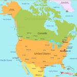 North America Map Capture