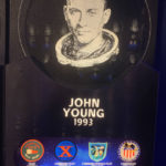 John Young plaque at Astronauts Hall of Fame