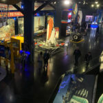 Exhibits at the Atlantis building at Kennedy Space Center
