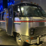 The van that took astronauts out to the launch pad.