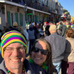 Kevin and Laura in the French Quarter