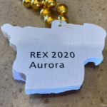 Krewe of Rex throw from Mardi Gras, 2020