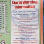 Tornado warning information