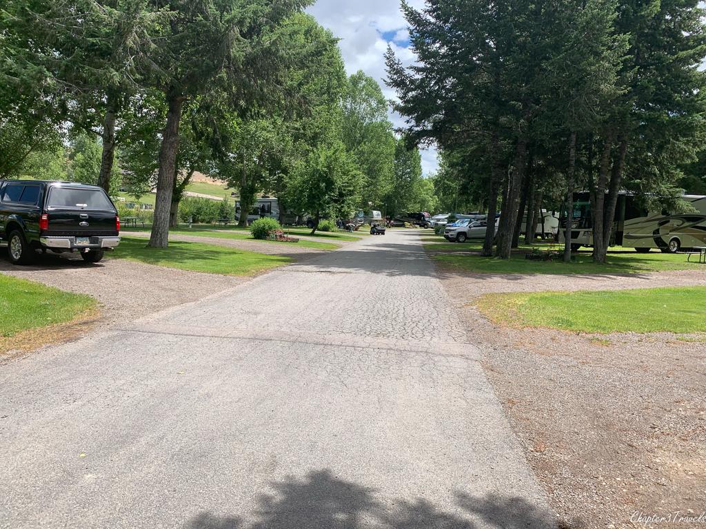 Jim & Mary's RV Park in Missoula, Montana