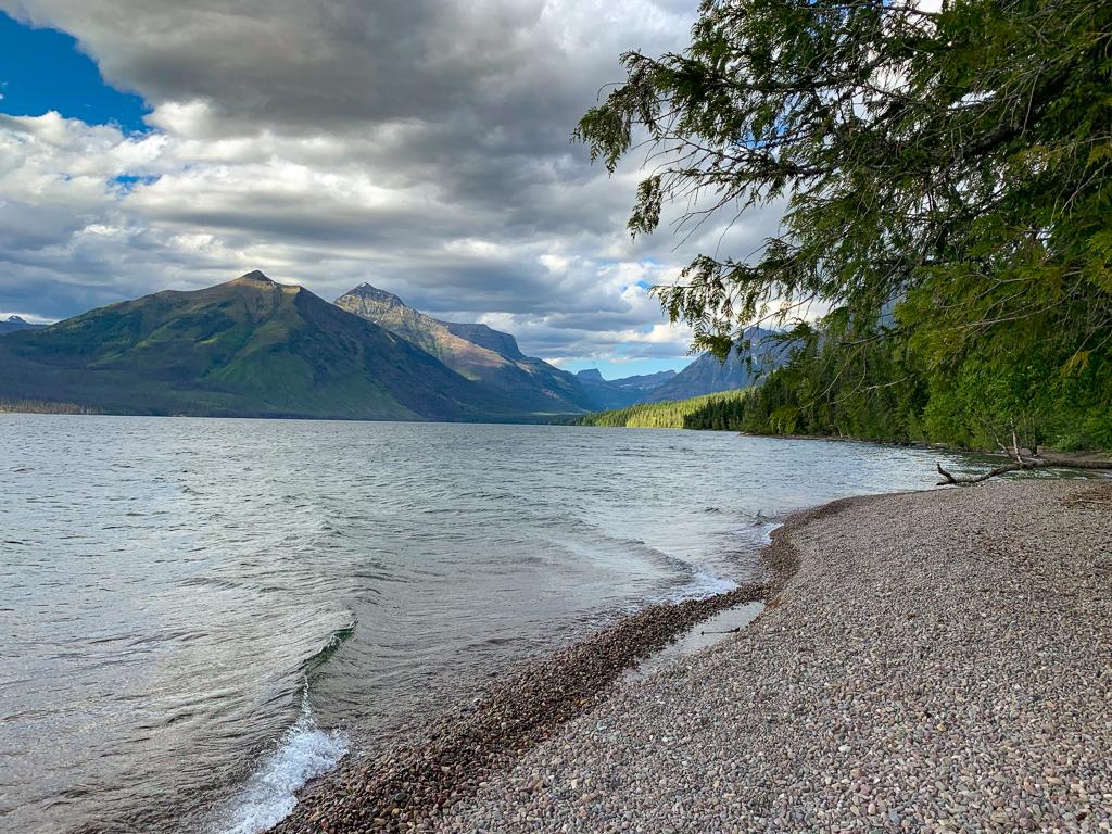 Lake MacDonald at Glacier National Park