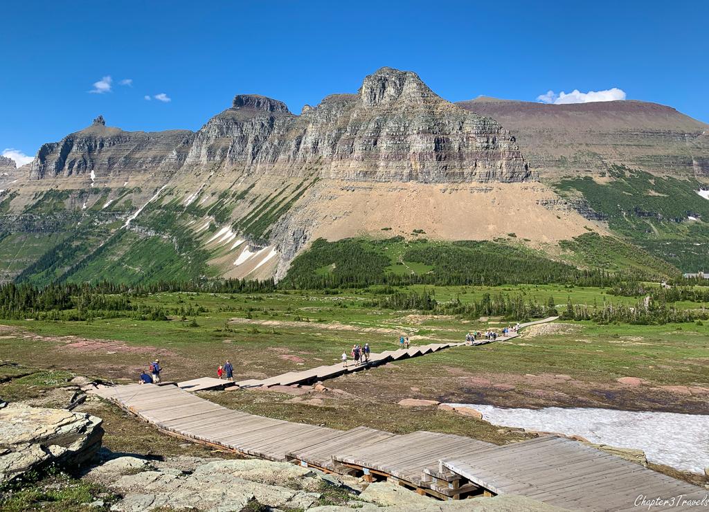 The Hidden Lake Trail at Glacier National Park