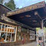 Western themed gas station in Winthrop, Washington