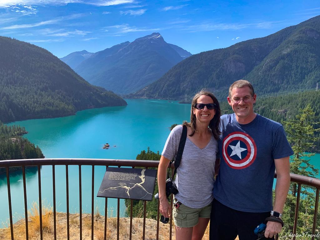 Kevin and Laura at Diablo Lake