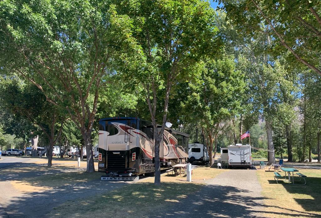 Riverbend RV Park in Twisp, Washington