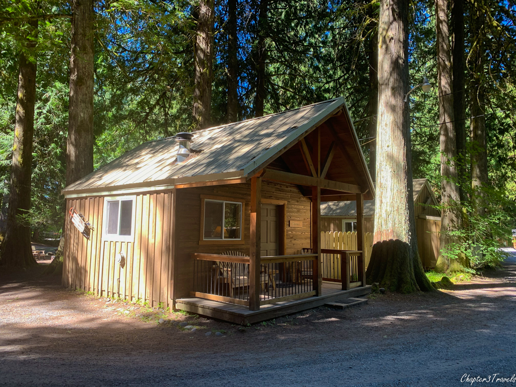 Cabin at Mounthaven Resort in Ashford, Washington
