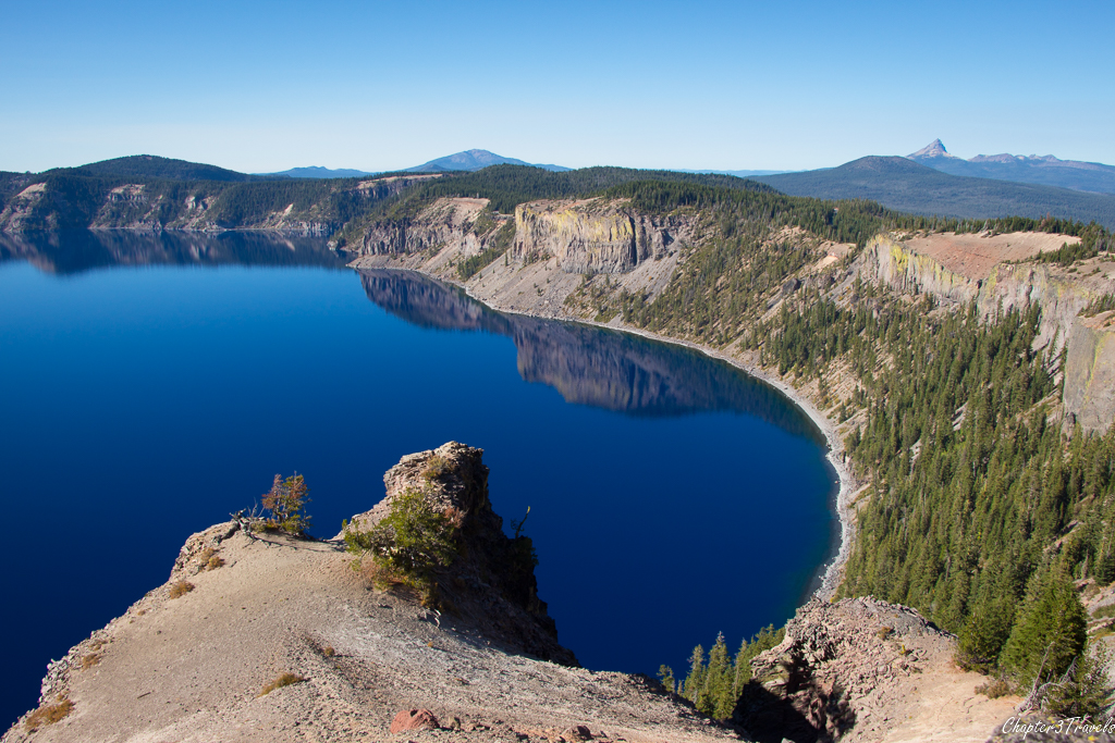Grotto Cove at Crater Lake