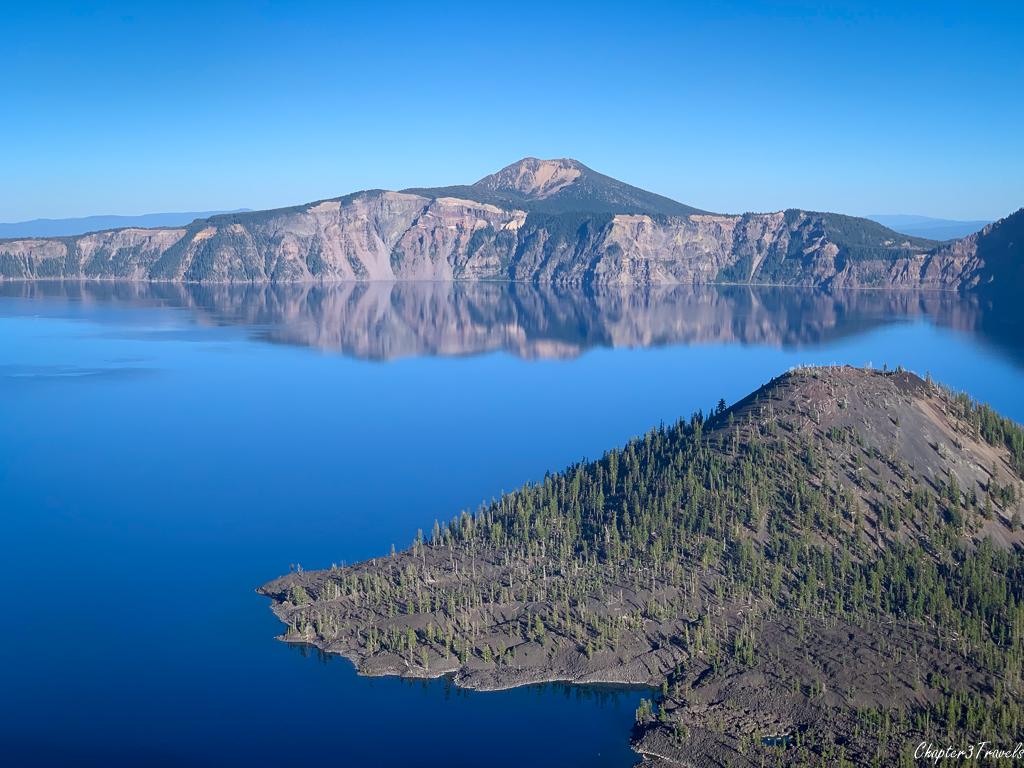 Wizard Island at Crater Lake