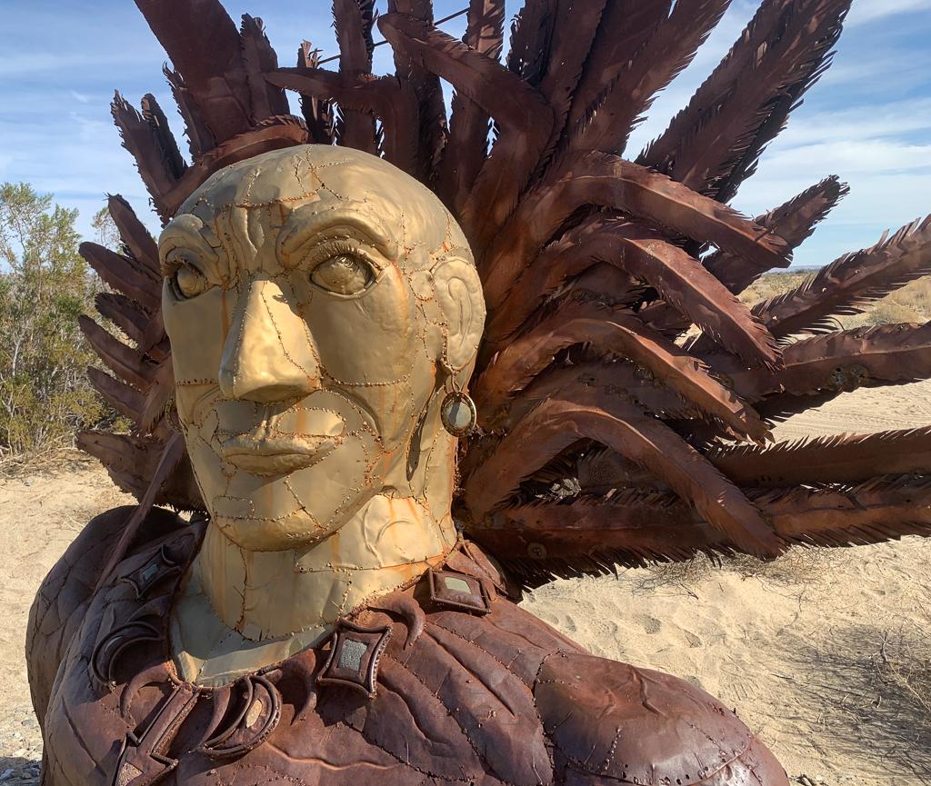 Ricardo Breceda's sculptures in Borrego Springs, California
