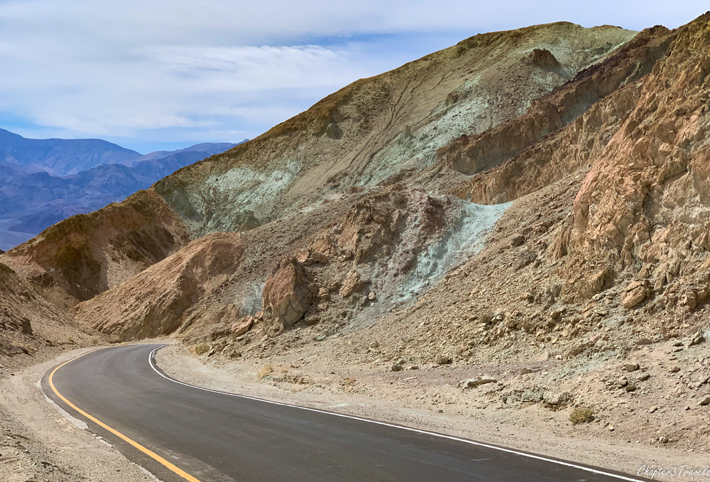 Colorful mountains at Death Valley