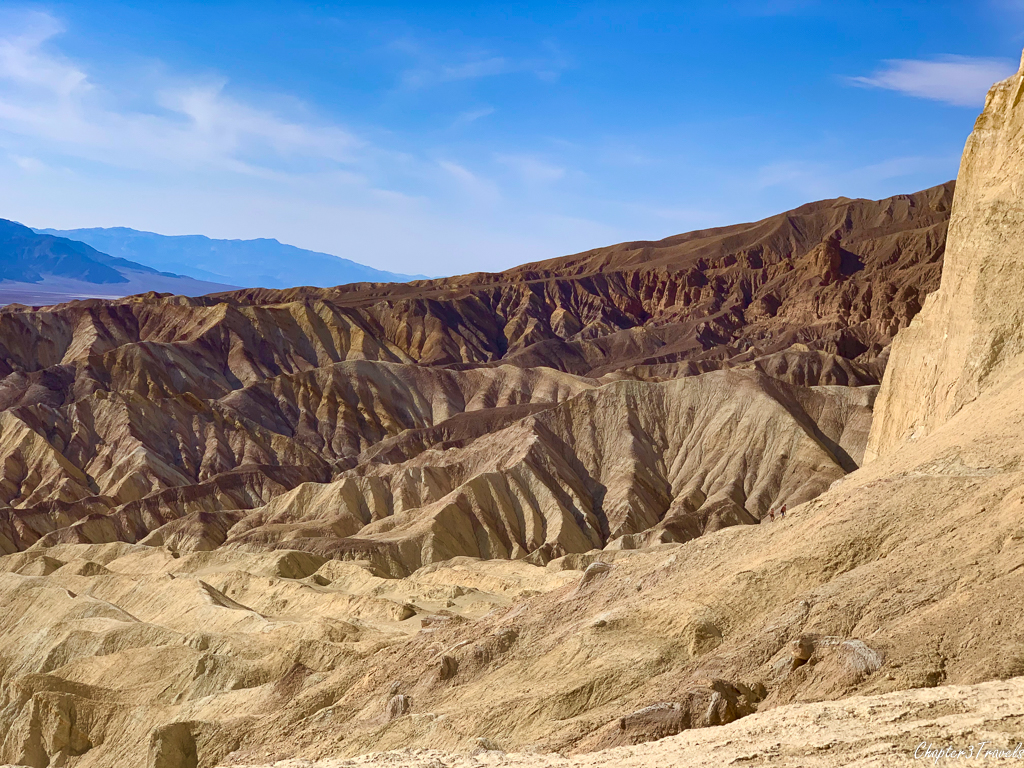Scenery along the Golden Canyon Trail in Death Valley National Park