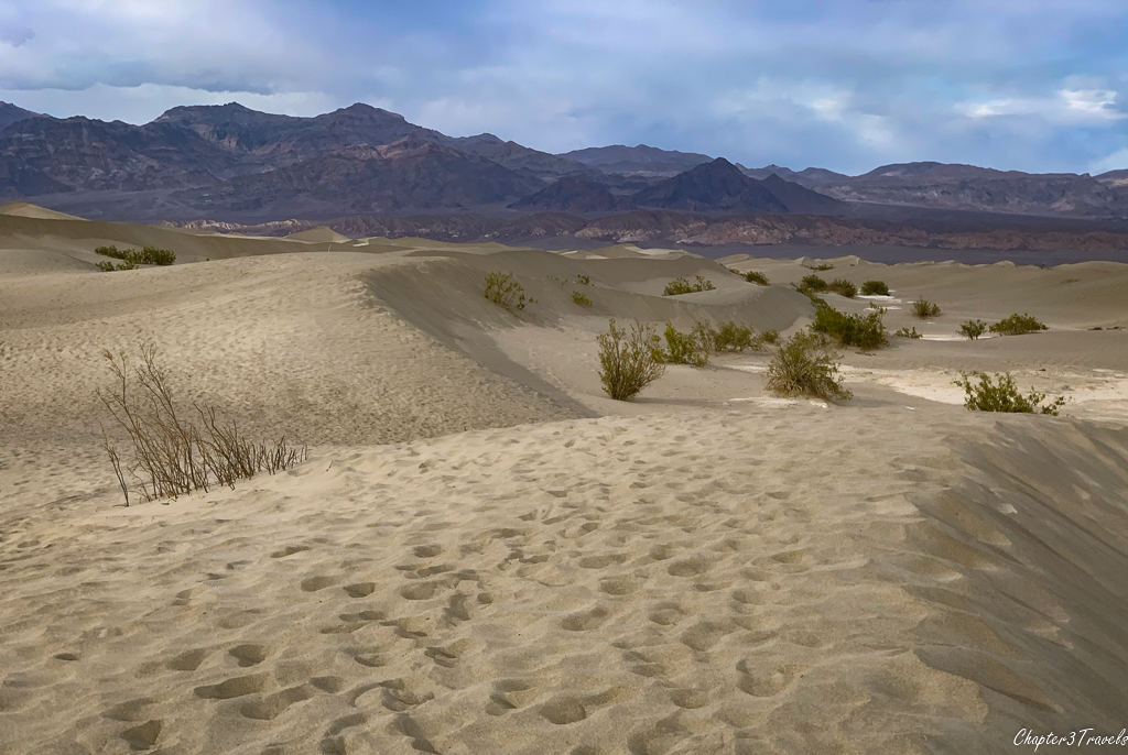 Mesquite Sand Dunes at Death Valley National Park