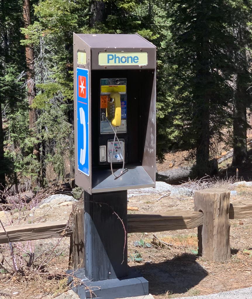Emergency pay phone