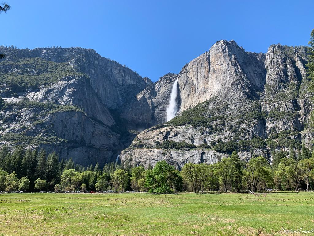 Yosemite Falls from Yosemite Valley